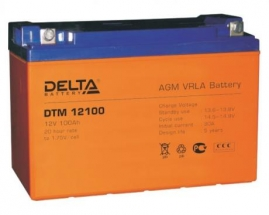 DTM 12100 L (Delta) Аккумуляторы и боксы для АКБ