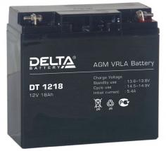 DT 1218 (Delta) Аккумуляторы и боксы для АКБ