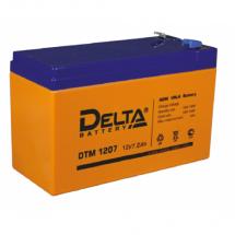 DTM 1207 (Delta) Аккумуляторы и боксы для АКБ