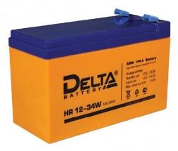 HR 12-34W (Delta) Аккумуляторы и боксы для АКБ