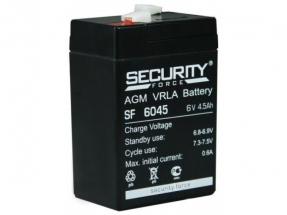 SF6045 (Security Force) Аккумуляторы и боксы для АКБ
